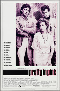 "Pretty in Pink (Paramount, 1986). One Sheet (27"" X 41""). Comedy"