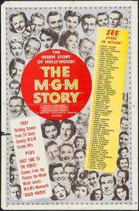 "The MGM Story (MGM, 1951). One Sheet (27"" X 41""). Documentary"