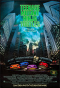 "Movie Posters:Action, Teenage Mutant Ninja Turtles (New Line, 1990). One Sheet (27"" X 40""). Action.. ..."