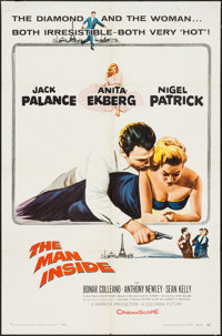 """The Man Inside & Others Lot (Columbia, 1958). One Sheets (4) (27"""" X 41""""). Adventure. ... (Total: 4 Items)"""