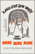 """Movie Posters:Comedy, Make Mine Mink (Continental, 1961). One Sheet (27"""" X 41""""). Comedy....."""