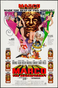 """Marco the Magnificent & Other Lot (MGM, 1966). One Sheets (2) (27"""" X 41""""). Adventure. ... (Total: 2 Items)"""