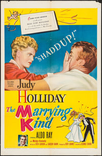"The Marrying Kind (Columbia, 1952). One Sheet (27"" X 41""). Comedy"