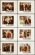 """Movie Posters:Comedy, Tall, Dark and Handsome (20th Century Fox, 1941). Deluxe Color-GlosLobby Card Set of 8 (11"""" X 14""""). Comedy.. ... (Total: 8 Items)"""