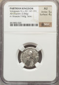 Ancients:Oriental, Ancients: Vologases IV (ca. AD 147-191). AR drachm (3.84 gm)....