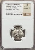 Ancients:Oriental, Ancients: Vologases IV (ca. AD 147-191). AR drachm (3.87 gm)....