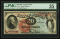 Large Size:Legal Tender Notes, Fr. 127 $20 1869 Legal Tender PMG Choice Very Fine 35.. ...