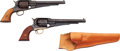 Handguns:Muzzle loading, Lot of 2 Reproduction Remington New Model Army PercussionRevolvers.... (Total: 2 Items)