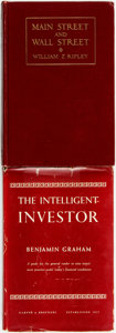 Books:Business & Economics, [Business, Economics]. Pair of Books on Investing. Variouspublishers, 1927 - 1949.. ... (Total: 2 Items)