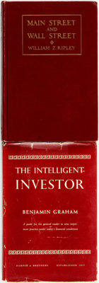 [Business, Economics]. Pair of Books on Investing. Various publishers, 1927 - 1949