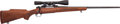 Long Guns:Bolt Action, Winchester Model 70 Bolt Action Rifle with Telescopic Sight....