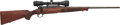 Long Guns:Bolt Action, Winchester Model 70 Classic Featherweight Bolt Action Rifle with Telescopic Sight....