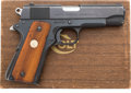 Handguns:Semiautomatic Pistol, Boxed Combat Commander Model Semi-Automatic Pistol....