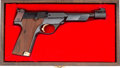 Handguns:Semiautomatic Pistol, Cased High Standard 1980 Olympic Model Semi-Automatic Pistol....