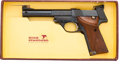 Handguns:Semiautomatic Pistol, Boxed High Standard Model 106 Military Supermatic TrophySemi-Automatic Pistol....