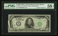 Error Notes:Major Errors, Fr. 2212-A $1,000 1934A Federal Reserve Note. PMG Choice About Unc58 EPQ.. ...
