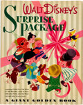 Animation Art:Poster, Walt Disney's Surprise Package Mary Blair Cover Book withDust Jacket (Simon and Schuster, 1944)....