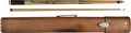 Miscellaneous Collectibles:General, 1930's-90's Minnesota Fats (Rudolf Wanderone) Used Pool Cue--His Favorite....