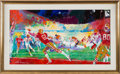 Football Collectibles:Others, 1989 Super Bowl XXIII Original Painting by LeRoy Neiman....