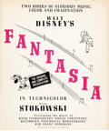 Animation Art:Poster, Fantasia Special Advertising and Publicity Campaign (WaltDisney, 1940)....