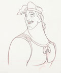 Animation Art:Production Drawing, Hercules Animation Drawing (Walt Disney, 1997)....