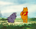 Animation Art:Production Cel, Winnie the Pooh and the Blustery Day Winnie and GopherProduction Cel Setup (Walt Disney, 1968)....