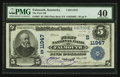 National Bank Notes:Kentucky, Falmouth, KY - $5 1902 Plain Back Fr. 607 The First NB Ch. #(S)11947. ...