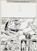 Original Comic Art:Covers, Dick Ayers and Mike Esposito The Mighty World of Marvel #30Cover Original Art (Marvel, 1973)....