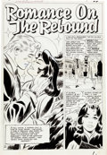 "Original Comic Art:Complete Story, Don Heck Love Romance #93 ""Romance on the Rebound"" Complete7-Page Original Art (Marvel, 1961).... (Total: 7 Original Art)"