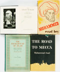 Books:Religion & Theology, [Islam]. Group of Four Books. Various publishers, 1938 - 1954.. ...(Total: 4 Items)