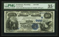 National Bank Notes:Wyoming, Kemmerer, WY - $10 1882 Date Back Fr. 545 The First NB Ch. #(W)5480. ...