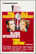 "Movie Posters:Hitchcock, Torn Curtain (Universal, 1966). One Sheet (27"" X 41""). Hitchcock....."