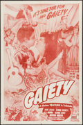 """Movie Posters:Comedy, Fiesta (Favorite Films, R-1948). One Sheet (27"""" X 41""""). Comedy. Reissue Title: Gaiety.. ..."""