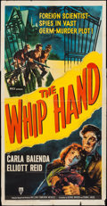 """Movie Posters:Action, The Whip Hand (RKO, 1951). Three Sheet (41"""" X 79""""). Action.. ..."""