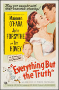 """Movie Posters:Comedy, Everything But the Truth (Universal International, 1956). One Sheet (27"""" X 41""""). Comedy.. ..."""
