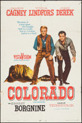 """Movie Posters:Western, Run for Cover (Citation Films, R-1961). One Sheet (27"""" X 41"""").Western. Reissue Title: Colorado.. ..."""