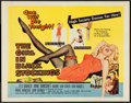 """Movie Posters:Crime, The Girl in Black Stockings (United Artists, 1957). Half Sheet (22""""X 28""""). Crime.. ..."""