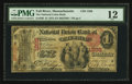 National Bank Notes:Massachusetts, Fall River, MA - $1 1875 Fr. 386 The National Union Bank Ch. # 1288. ...