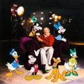 Animation Art:Limited Edition Cel, Roy Disney and Friends Hand Painted Limited Edition Signed Cel #83/300 (Walt Disney, 2000). ...