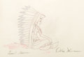 Animation Art:Production Drawing, Peter Pan Animation Production Drawing Original Art (WaltDisney, 1953). ...