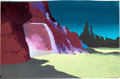 Animation Art:Painted cel background, Star Trek:The Animated Series Painted Production Background(Filmation, 1973)....