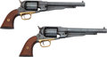 Handguns:Muzzle loading, Lot of 2 Reproduction Remington Percussion Revolvers.... (Total: 2Items)