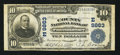 National Bank Notes:Pennsylvania, Punxsutawney, PA - $10 1902 Plain Back Fr. 627 The County NB Ch. #(E)9863. ...