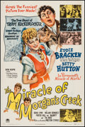 "Movie Posters:Comedy, The Miracle of Morgan's Creek (Paramount, 1944). One Sheet (27"" X41""). Comedy.. ..."