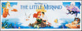 "Movie Posters:Animation, The Little Mermaid (Buena Vista, 1989). Vinyl Banner (36"" X 96"").Animation.. ..."