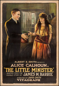 "The Little Minister (Vitagraph, 1922). One Sheet (27"" X 41""). Drama"