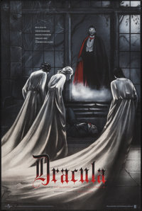 "Dracula by Jonathan Burton (Mondo, 2015). Limited Numbered Edition Screen Print (24"" X 36"") Regular Edition. H..."