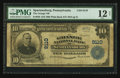 National Bank Notes:Pennsylvania, Spartansburg, PA - $10 1902 Plain Back Fr. 626 The Grange NB Ch. #9110. ...