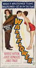 "Movie Posters:Comedy, Wallflower (Warner Brothers, 1948). Three Sheet (41"" X 79.75"").Comedy.. ..."