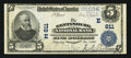 National Bank Notes:Pennsylvania, Gettysburg, PA - $5 1902 Plain Back Fr. 598 The Gettysburg NB Ch. #(E)611. ...